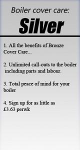 Silver Boiler Cover